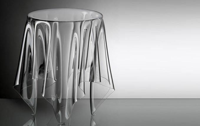 Дизайнерский стеклянный столик Essey Illusion