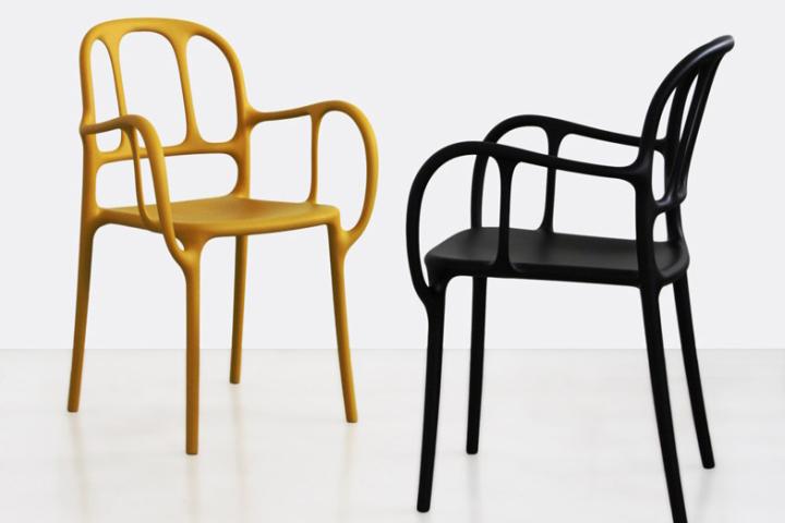 Чудесные стулья Mila от Jaime Hayon