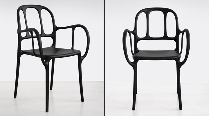 Прекрасные стулья Mila от Jaime Hayon