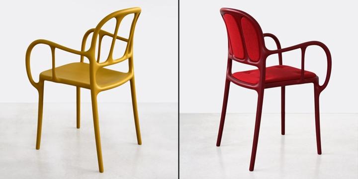 Красивые стулья Mila от Jaime Hayon
