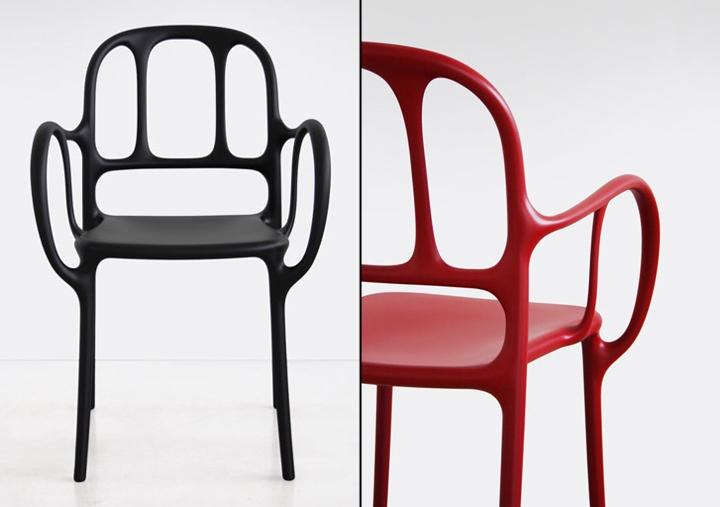 Уникальны стулья Mila от Jaime Hayon