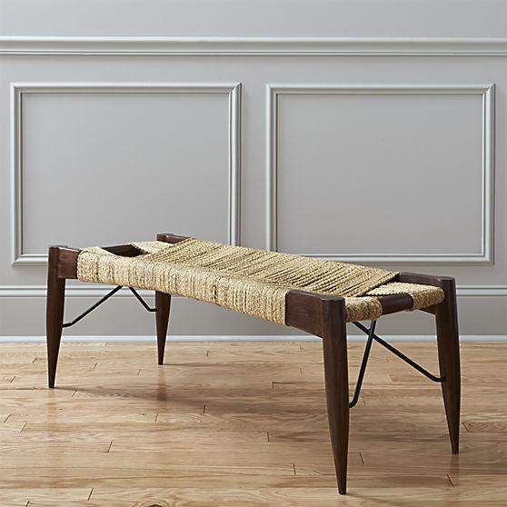 Дизайнерский журнальный стол-скамейка