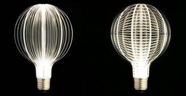 Дизайнерские лампочки, которые не нуждаются в абажурах и других украшениях