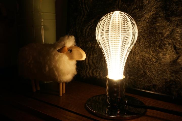 Дизайнерские лампочки в стиле минимализм - Фото 1