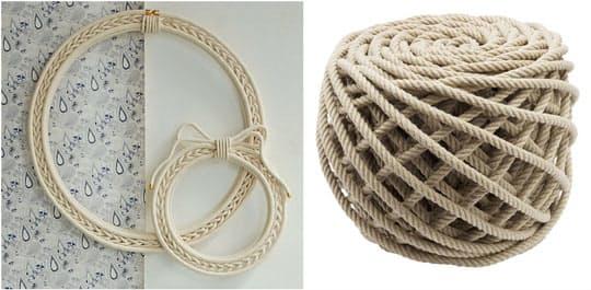 Дизайнерские предметы интерьера: изделия из верёвки