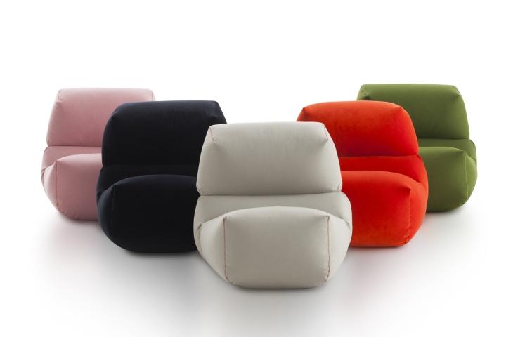 Комфортные дизайнерские пуфы