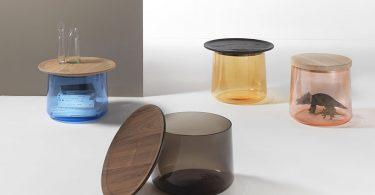 Интересная и необычная мебель: стол-цилиндр