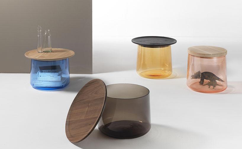 Дизайнерский стол-цилиндр