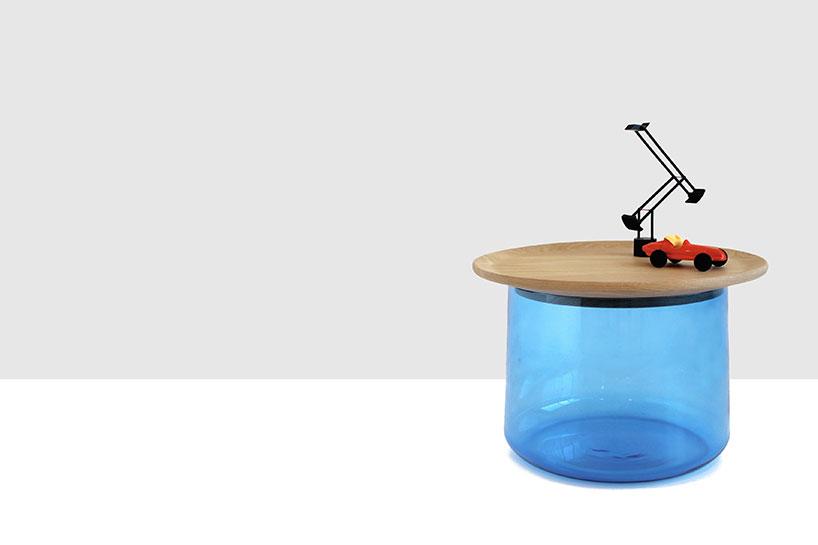 Оригинальный стол-цилиндр для интерьера - Фото 1