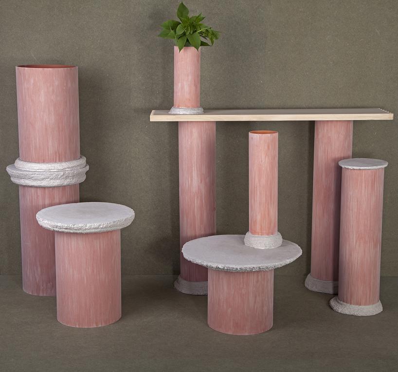 Оригинальный стол-цилиндр для интерьера - Фото 3