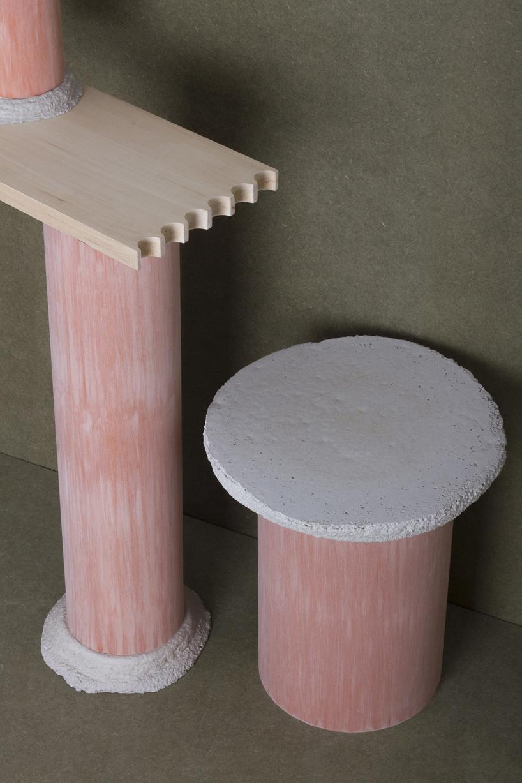 Оригинальный стол-цилиндр для интерьера - Фото 5