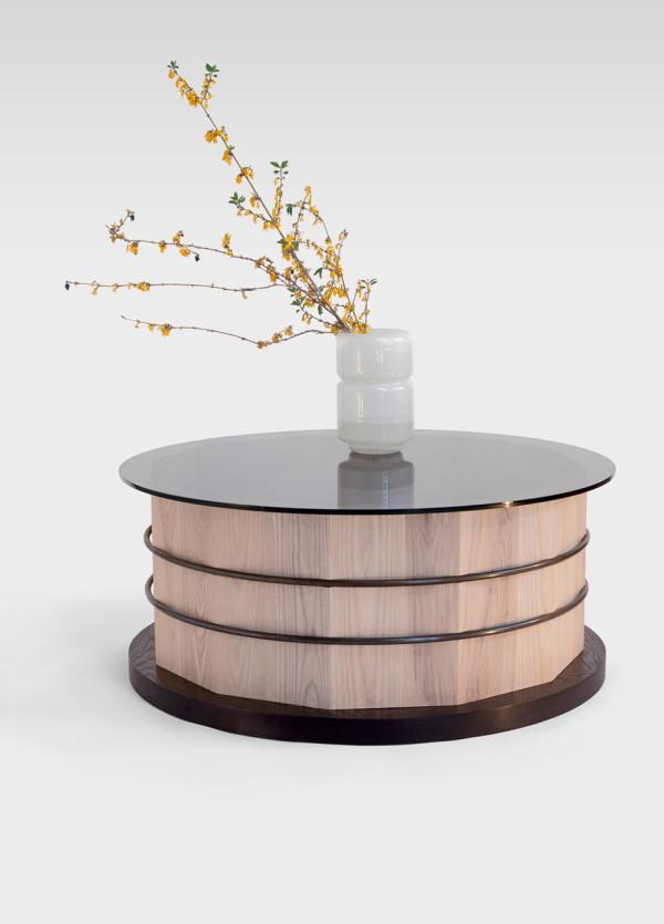 Оригинальный стол-цилиндр для интерьера - Фото 7