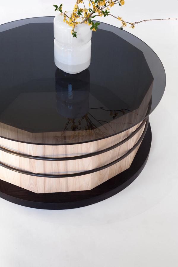Оригинальный стол-цилиндр для интерьера - Фото 8