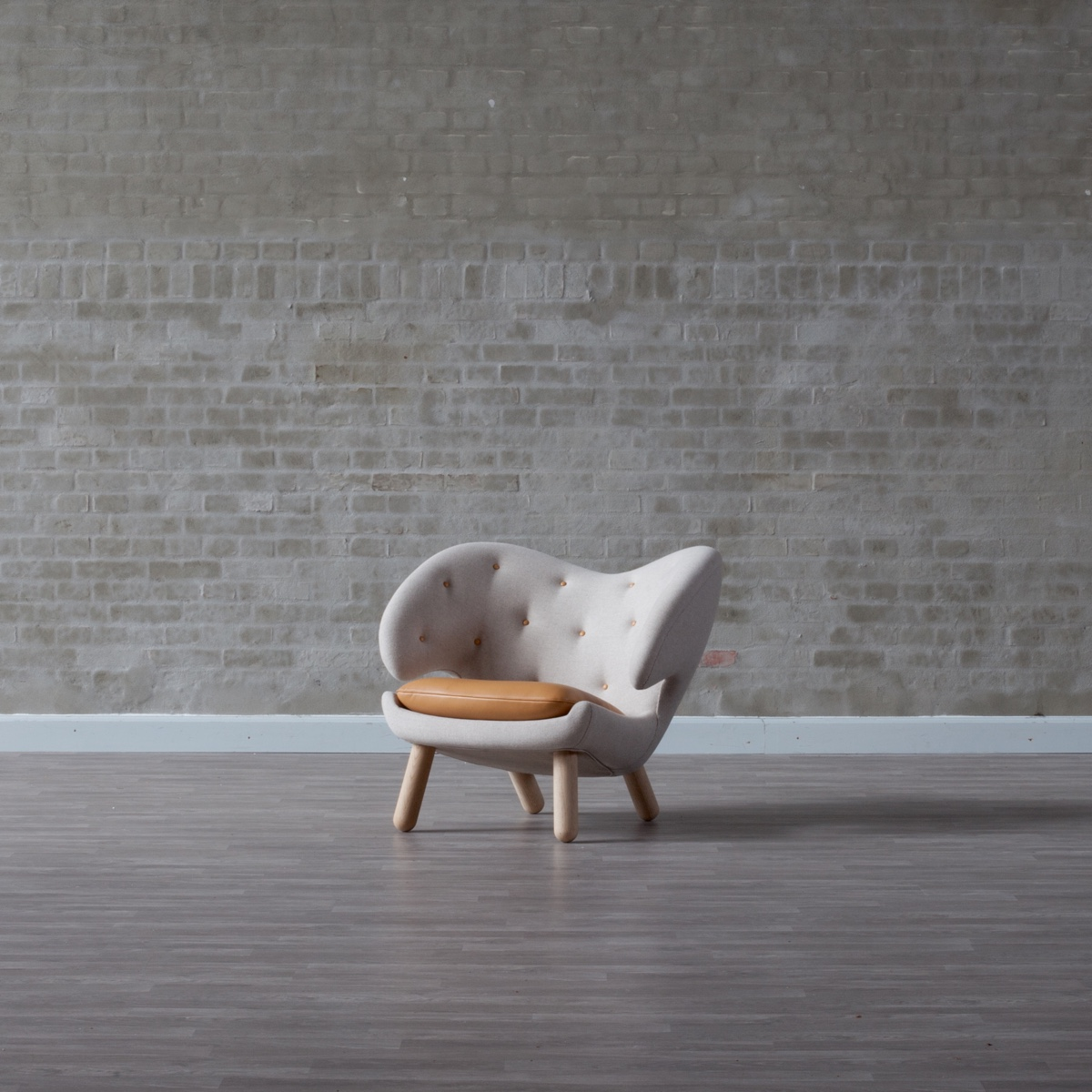Стулья 40-х годов от дизайнера Финна Юля - Pelican. Фото 1