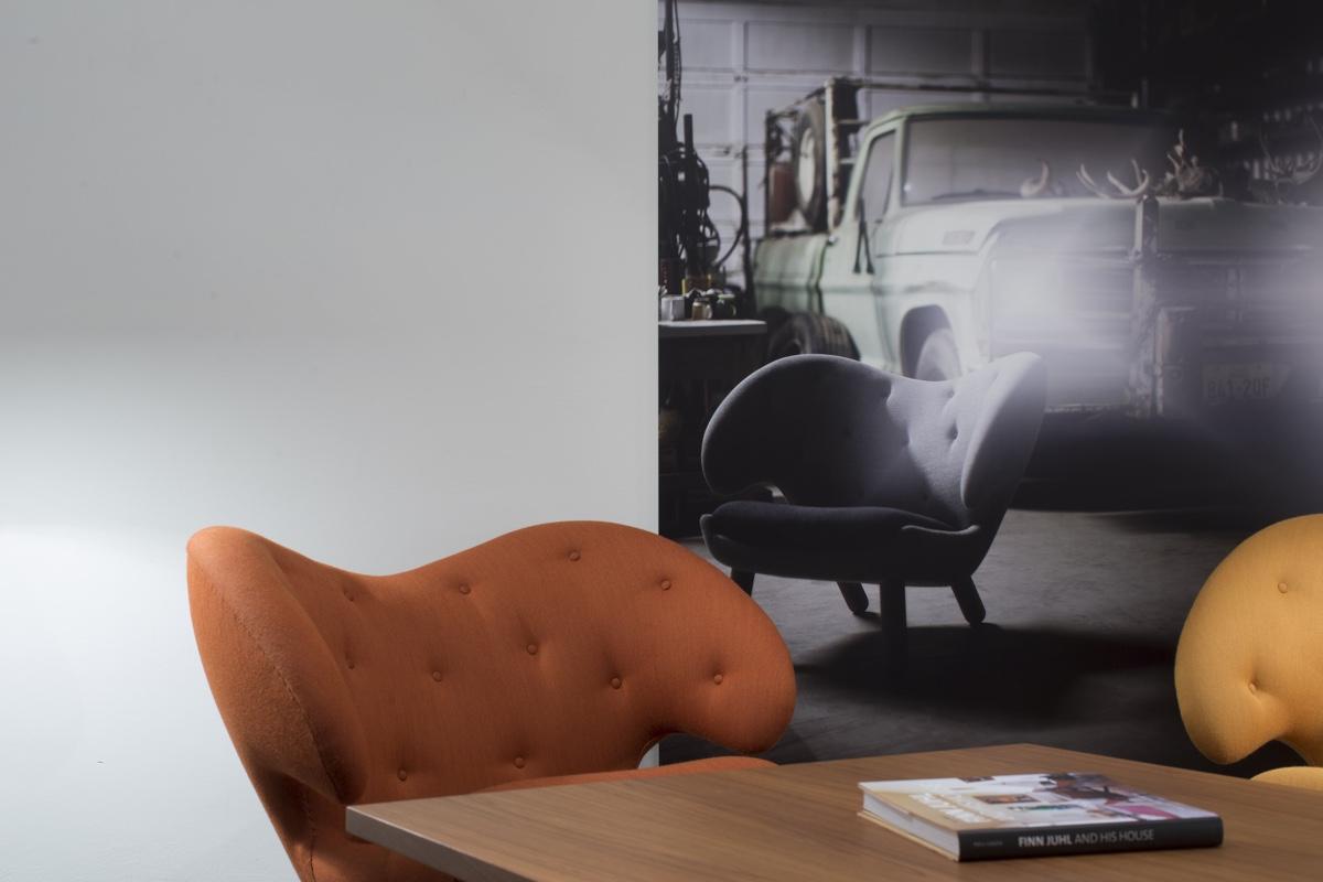 Стулья 40-х годов от дизайнера Финна Юля - Pelican. Фото 2