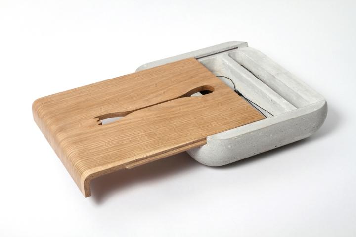 Красивый столик Dobrobox & Dobrostol от дизайнера Ekaterina Vagurina