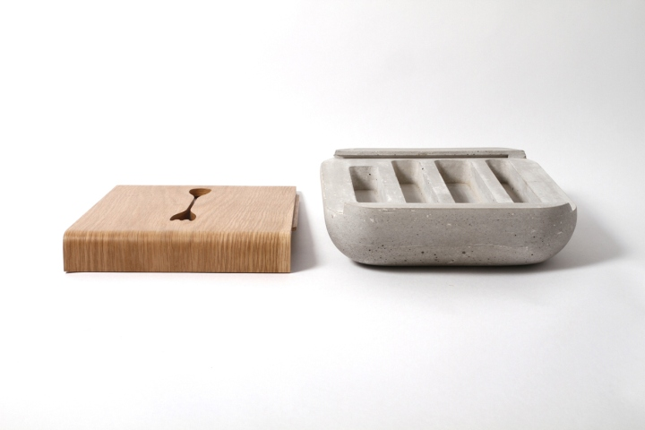 Яркий столик Dobrobox & Dobrostol от дизайнера Ekaterina Vagurina