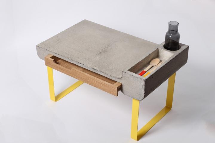 Красивый стол Dobrobox & Dobrostol от дизайнера Ekaterina Vagurina