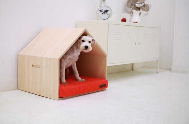 Комнатный домик для собак