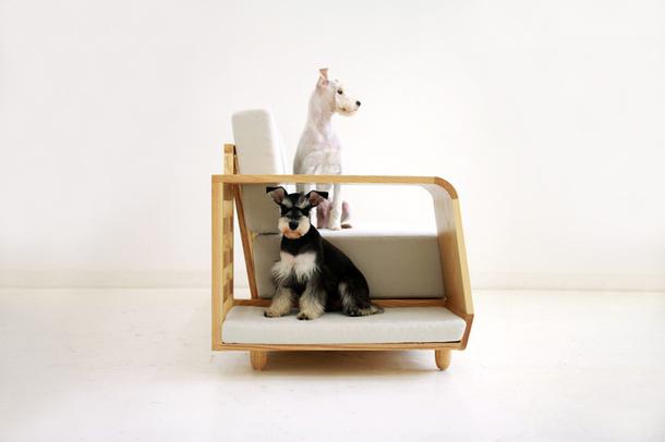 Домик с ножками для собак