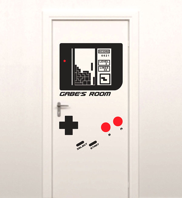 Pegatinas para puertas - Ideas para decoración de interiores del estudio Etsy.
