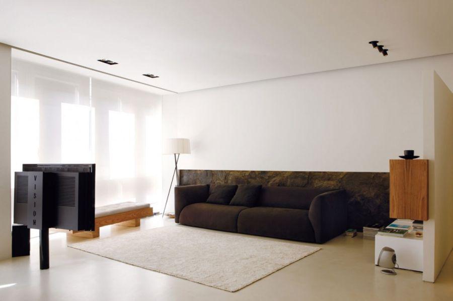Гостиная в стиле минимализма - ничего лишнего