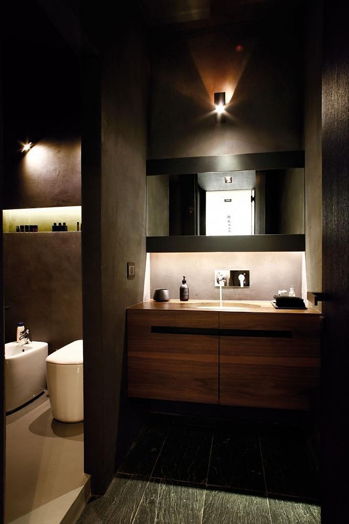 Ванная комната в апартаментах от архитектора Fabio Fantolino