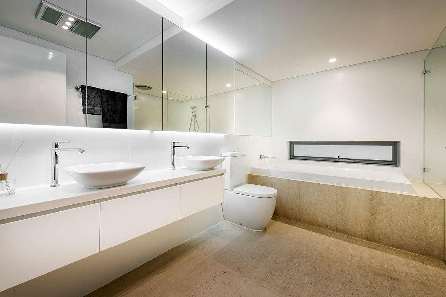 Дизайн интерьера ванной комнаты Down Under