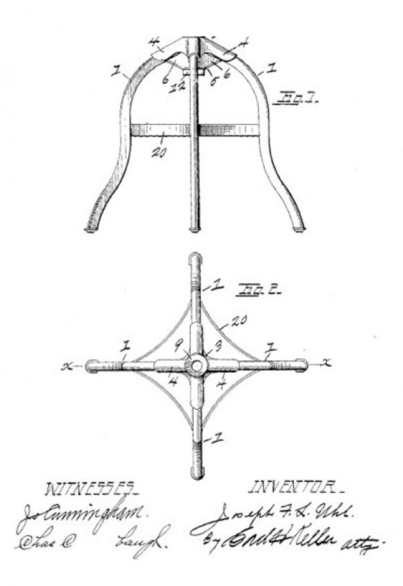Схема табуретки