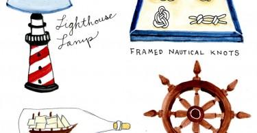 Рисунок с морской тематикой