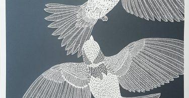 Кружевные узоры: вырезанные силуэты из бумаги от Пиппы Дирлаги