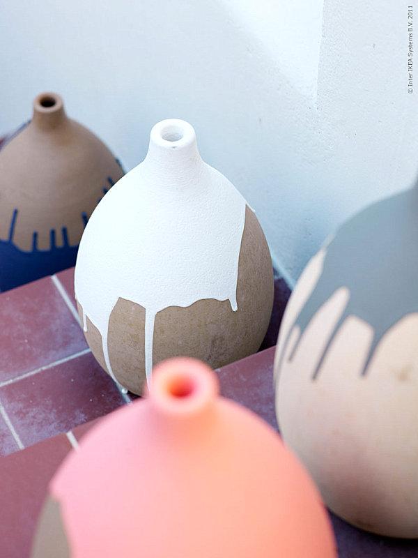 Марокканские мотивы в оформлении ваз