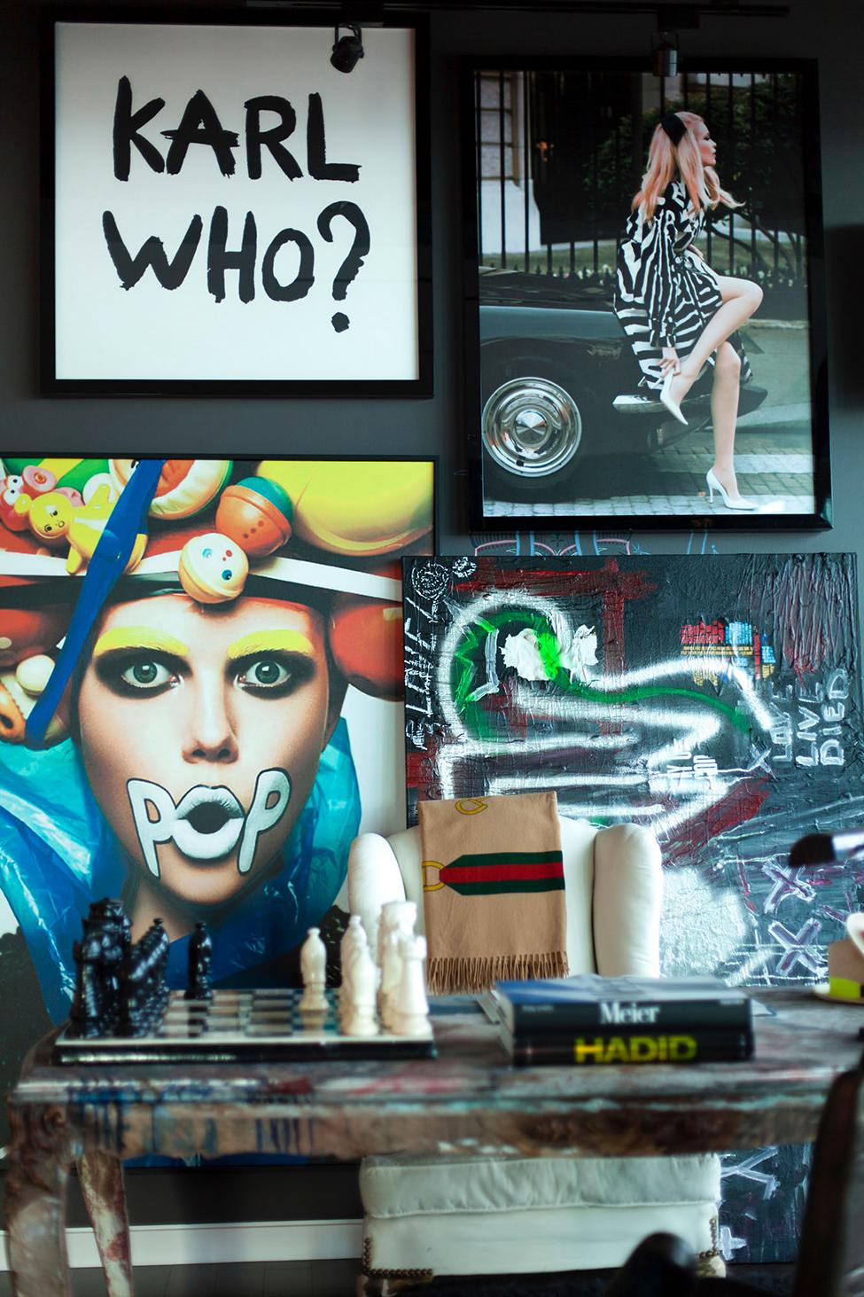 Постеры в дизайне интерьера квартиры