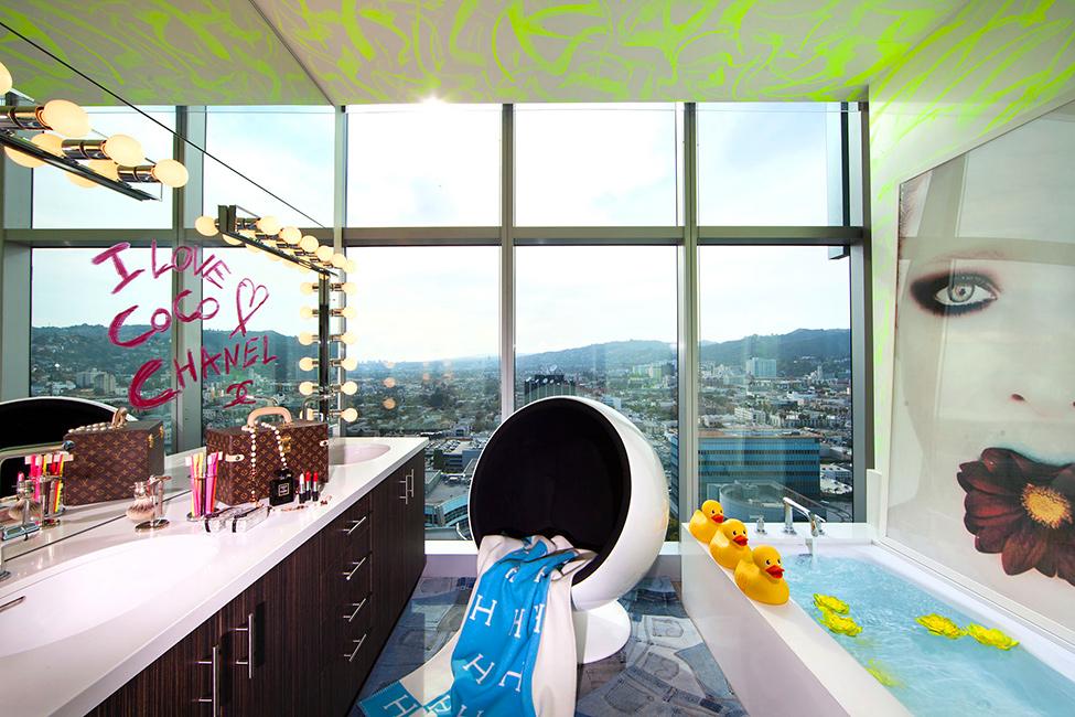 Дизайн интерьера квартиры в Лос-Анджелесе