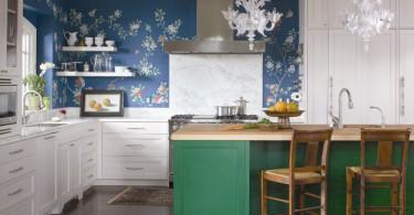 Дизайн интерьер кухни в стиле «эклектик»
