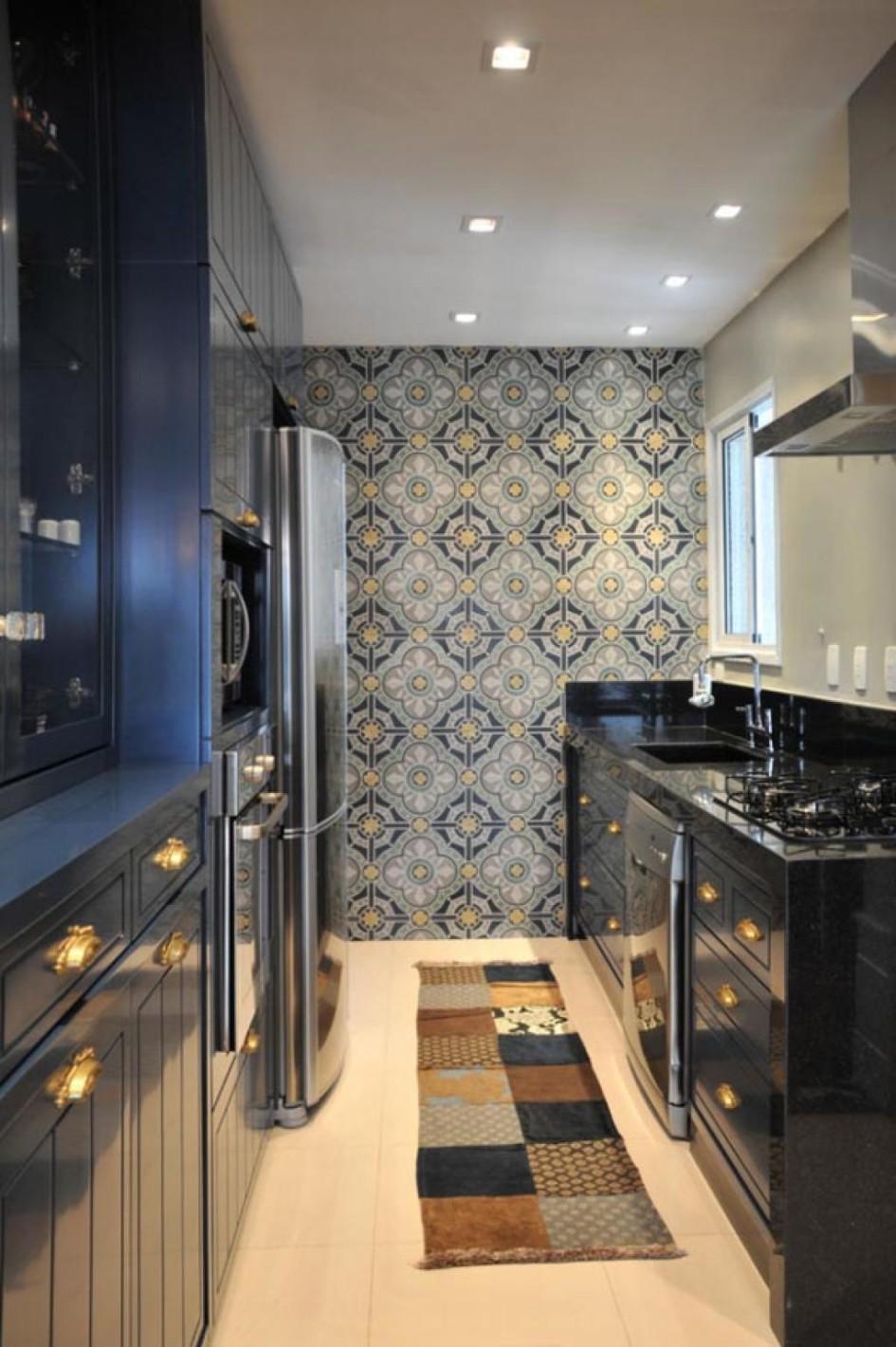 Умопомрачительный дизайн интерьера кухни в стиле эклектика