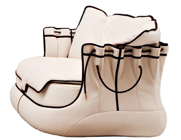 Диван-ботинок от Самуэле Мацца