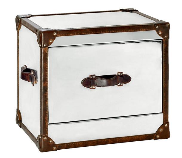 Прикроватный столик в виде чемодана