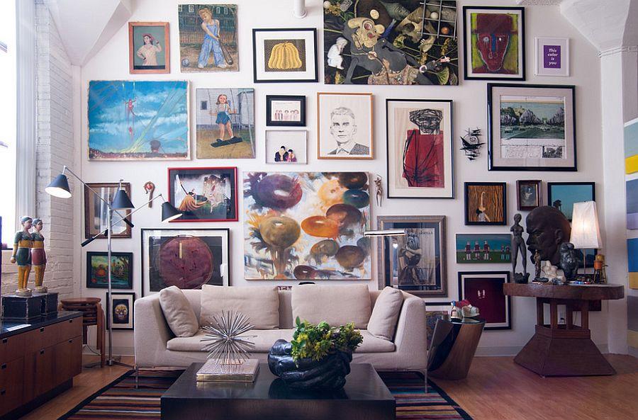 Эклектичный стиль в интерьере - фото 17