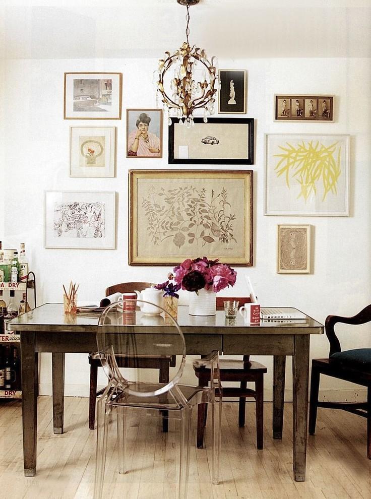 Ecléctico en el diseño de interiores: una selección de fotos.
