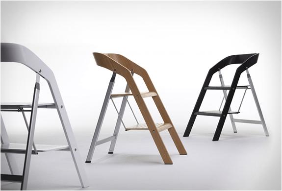 Чудесные стулья-стремянки
