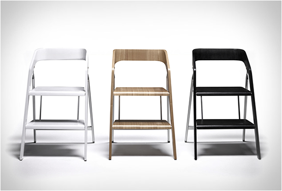 Прекрасные стулья-стремянки