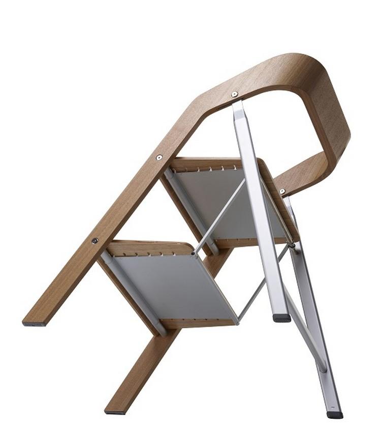 Яркий стул-стремянка