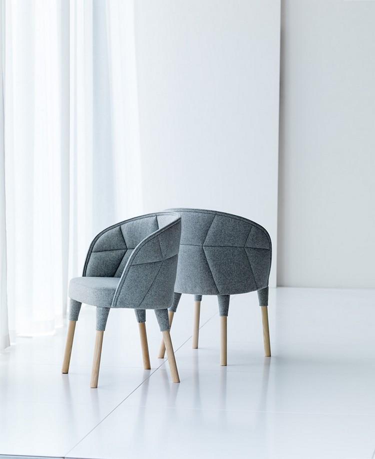 Чудесные дизайнерские стулья EMMA и EMILY от Färg & Blanche