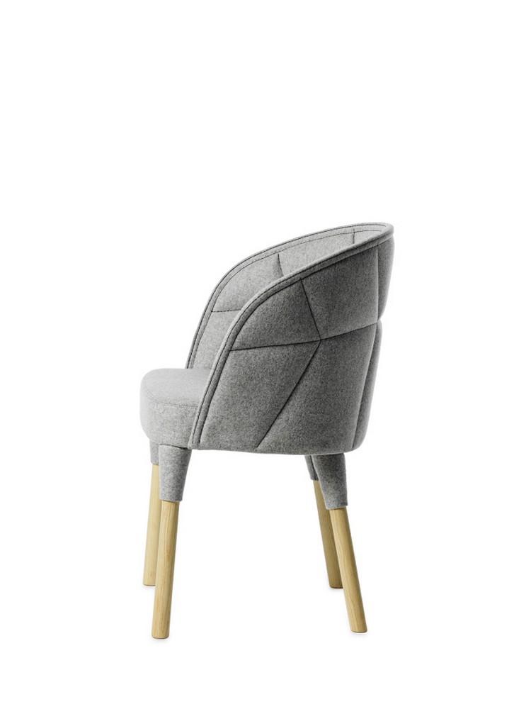 Прекрасный дизайнерский стул из коллекции EMMA и EMILY от Färg & Blanche
