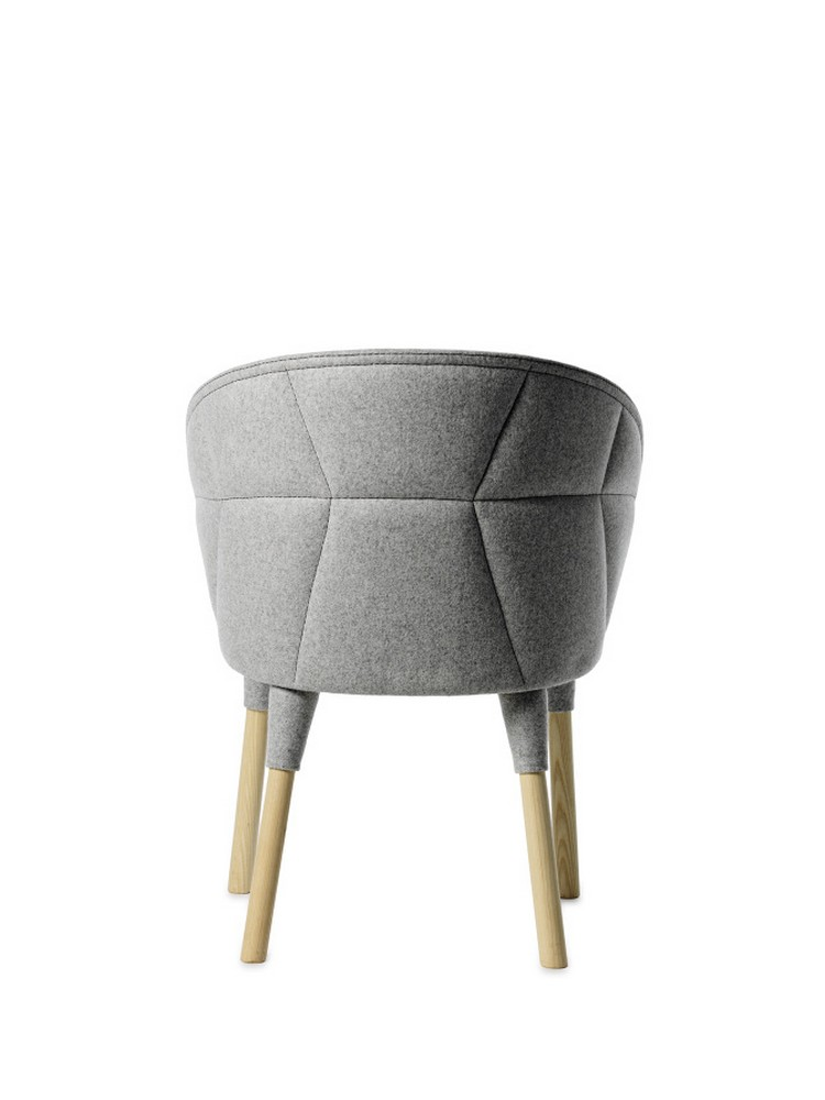 Оригинальный дизайнерский стул из коллекции EMMA и EMILY от Färg & Blanche
