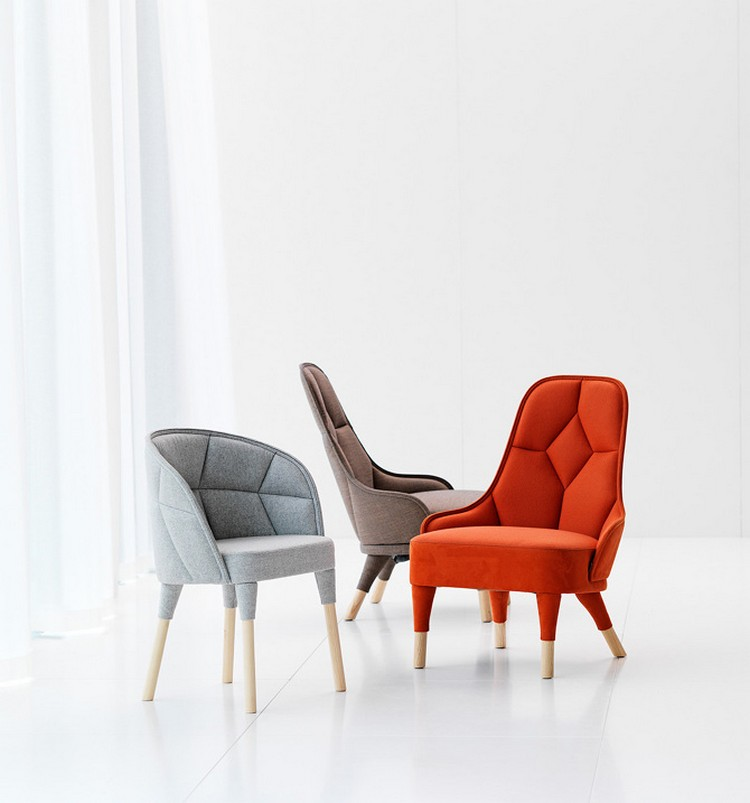 Красивые дизайнерские стулья EMMA и EMILY от Färg & Blanche