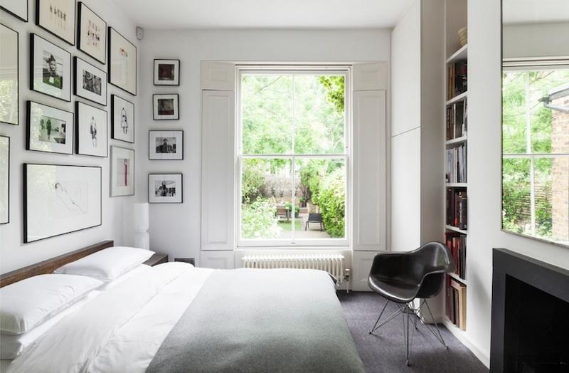 Элегантный дизайн интерьера спальни