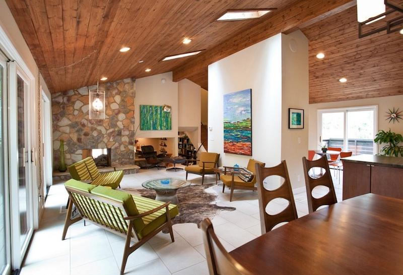 Элегантный дизайн интерьера в эко-стиле