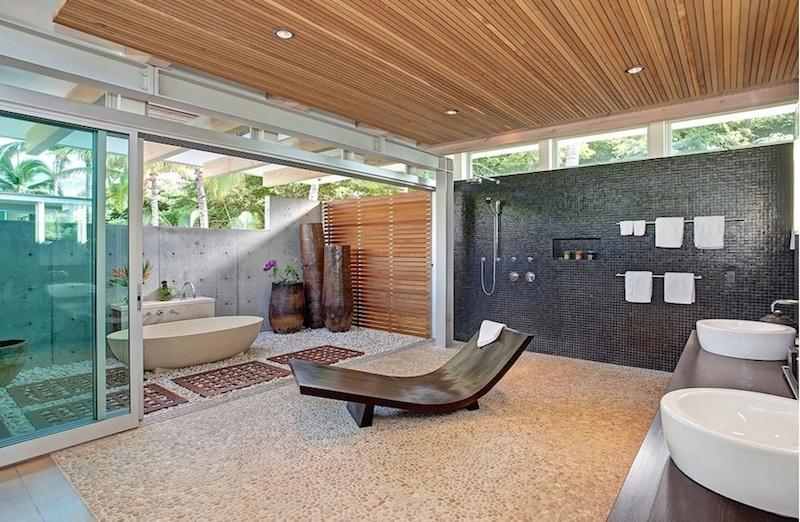 Элегантный дизайн интерьера ванной